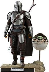 Picture of Star Wars Mandalorian and the Child (Deluxe) Hot Toy