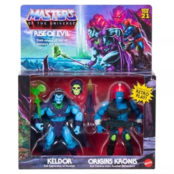 Picture of Masters of the Universe Keldor and Origins Kronis Rise of Evil Action Figure 2-Pack
