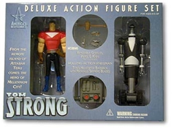 Picture of Tom Strong Deluxe Action Figure Set