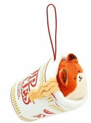 Picture of Anirollz Cup Noodles Foxiroll Mini Plush