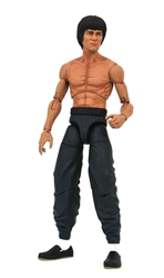 Picture of Bruce Lee Select Shirtless Action Figure