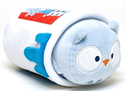 """Picture of Anirollz Icee Owlyroll 6"""" Plush Blanket Toy"""