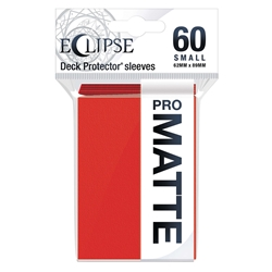 Picture of Eclipse Matte Deck Protector Small Sleeves Apple Red (60)