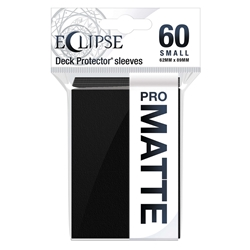 Picture of Eclipse Matte Deck Protector Small Sleeves Jet Black (60)
