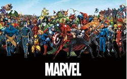"""Picture of Marvel Line Up 15 24"""" x 36"""" Poster"""
