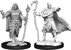 Picture of Dungeons and Dragons Nolzur's Marvellous Unpainted Human Male Druid Miniatures