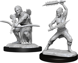 Picture of Dungeons and Dragons Nolzur's Marvellous Unpainted Shifter Wildhunt Ranger Miniatures