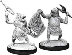 Picture of Dungeons and Dragons Nolzur's Marvellous Unpainted Kuo-Toa and Kuo-Toa Whip Miniatures
