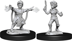 Picture of Dungeons and Dragons Nolzur's Marvellous Unpainted Gnome Female Artificer Miniatures