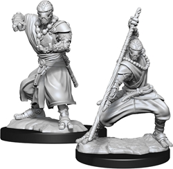 Picture of Dungeons and Dragons Nolzur's Marvellous Unpainted Warforged Male Monk Miniatures
