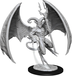Picture of Dungeons and Dragons Nolzur's Marvellous Unpainted Horned Devil Miniature