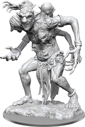 Picture of Dungeons and Dragons Nolzur's Marvellous Unpainted Fire Troll Miniature