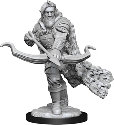 Picture of Dungeons and Dragons Nolzur's Marvellous Unpainted Firbolg Male Ranger Miniature
