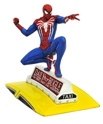 Picture of Spider-Man on Taxi PS4 Marvel Gallery Statue