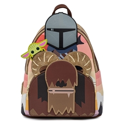 Picture of Loungefly x Star Wars Mandalorian Bantha Ride Mini Backpack