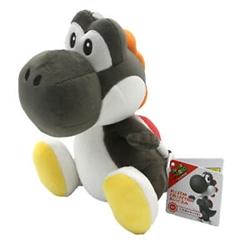 "Picture of Super Mario Black Yoshi 8"" Plush"