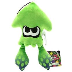 "Picture of Splatoon Inkling Squid Neon Green 9"" Plush"