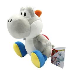 """Picture of Super Mario White Yoshi 8"""" Plush"""