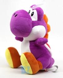 """Picture of Super Mario Purple Yoshi 8"""" Plush"""