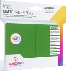 Picture of Matte Prime Card Sleeves 100 Count Green