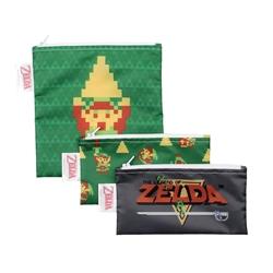 Picture of Nintendo Legend of Zelda Snack Bag 3-Pack