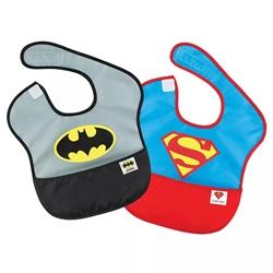 Picture of Batman Superman SuperBib 2-Pack