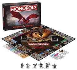 Picture of Dungeons and Dragons Monopoly