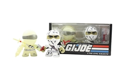 Picture of G.I. Joe Loyal Subjects Radioactive Snake Eyes Camoflage Storm Shadow 2-Pack
