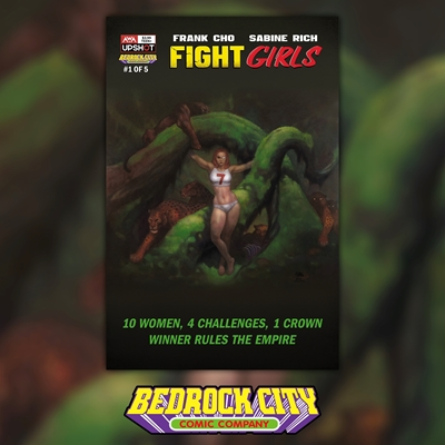 Picture of Fight Girls #1 Bedrock City Exclusive (Cover A)
