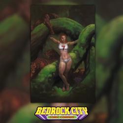 Picture of Fight Girls #1 Bedrock City Exclusive (Virgin Variant)