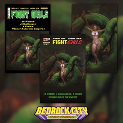 Picture of Fight Girls #1 Bundle (Bedrock City Exclusive 3-Pack)