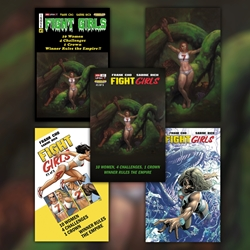 Picture of Fight Girls #1 Bundle (Bedrock City Exclusives with Regular Variants 5-Pack)