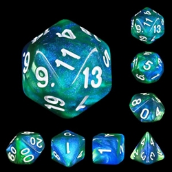 Picture of Fireflies Forest Dice Set