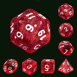 Picture of Rabbit's Eye Dice Set