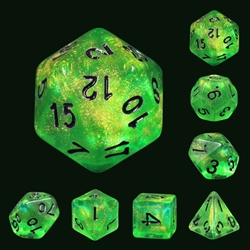 Picture of Forest Green Dice Set