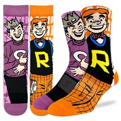 Picture of Men's Archie and Jughead Socks Size 8-13