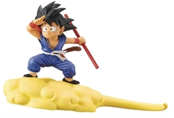 Picture of Dragon Ball Goku and Flying Nimbus Ver 2 Figure