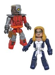 Picture of Marvel Minimates Mockingbird Deathlok Series 80 Action Figure