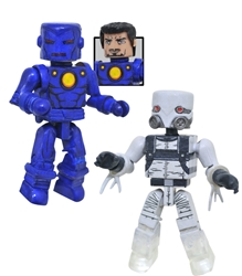 Picture of Marvel Minimates Stealth Iron Man Marvel's Ghost Series 80 Action Figure