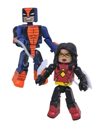 Picture of Marvel Minimates Spider-Woman Constrictor Series 80 Action Figure