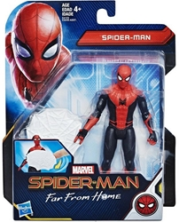 """Picture of Spider-Man Red/Black Suit 6"""" Far From Home Hasbro 6"""""""