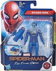 """Picture of Spider-Man Blue/Clear Suit 6"""" Far From Home Hasbro 6"""""""