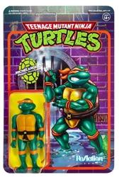 Picture of Teenage Mutant Ninja Turtles Michelangelo ReAction Figure