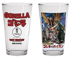Picture of Godzilla vs Gigan Poster Toon Tumbler Glass
