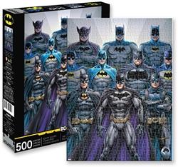 Picture of Batman Batsuits 500-Piece Puzzle