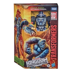 Picture of Transformers Generations Kingdom War for Cybertron Optimus Primal Voyager Class Figure