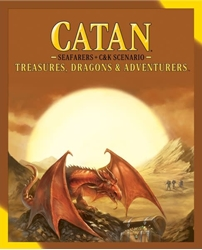 Picture of Catan Treasures, Dragons, and Adventures