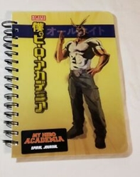 Picture of My Hero Academia Spiral Notebook