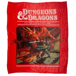 Picture of Dungeons and Dragons Fleece Throw