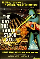 """Picture of Day the Earth Stood Still 1951 11"""" x 17"""" Counter Top Poster"""
